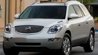 2012 Buick Enclave Start Up and Review 3.6 L V6
