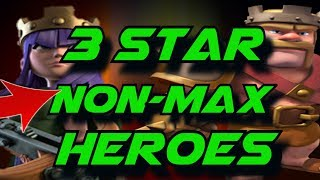 How to 3 Star Max TH9 War Base without Max Heroes (2018) | Clash of Clans