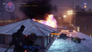 The Division 1.7 4k Ultra settings Gameplay
