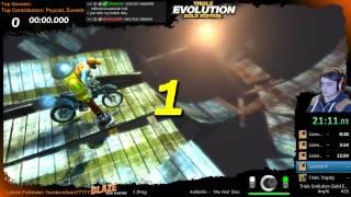 Speedrun Any % Trials Evolution Gold WR 1:01.58