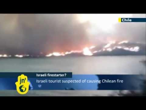 Israeli Blamed For Fire In Chile's Torres Del Paine National Park, Tourist Rotem Singer Arrested