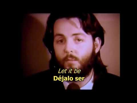 Let It Be - The Beatles (LYRICS/LETRA) [Original]
