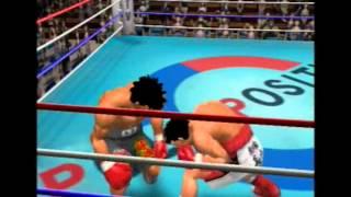Hajime No Ippo (PS2) - Victorious Boxers 2 - Fighting Spirit - Ippo Makunouchi VS Iwao Shimabukuro