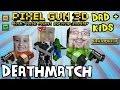 Dad & Kids play Pixel Gun 3D: DEATHMATCH (pt. 2) (iOS Multiplayer Face Cam)