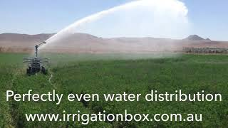 NEW DuCaR IrriCruiser COMFORT - Soft Hose Travelling Irrigator - 400 m Travel Distance