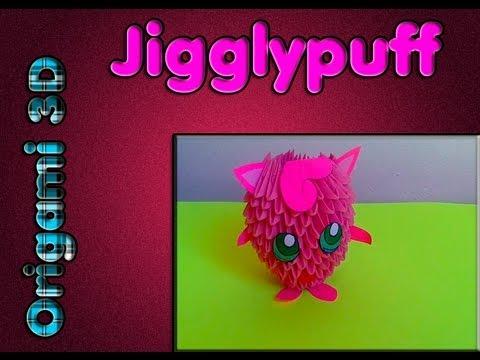 Pokemon Rosa Jigglypuff Origami 3d Youtube