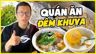 Khám Phá Những Quán Ăn Về Đêm  Ngon Nhất Tại Sài Gòn | WarZone Vlog