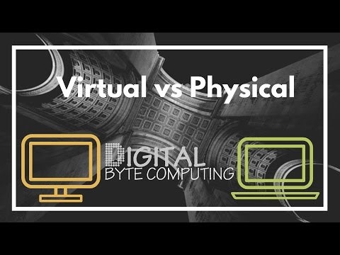 Why Virtual is better than Physical Server Infrastructure