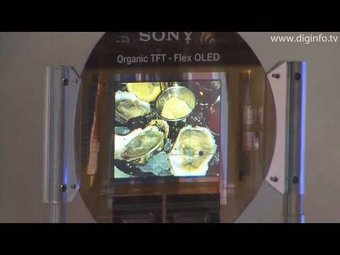 Sony's flexible organic EL display concepts : DigInfo