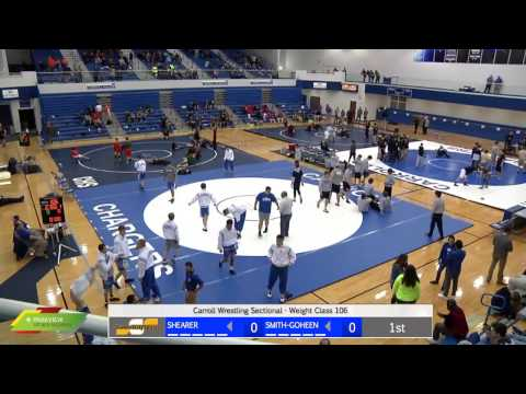 Watch Live: Carroll Wrestling Sectional