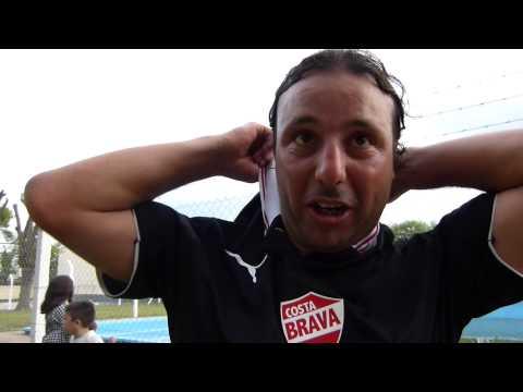 Jesús Oyola autor del gol de Costa Brava