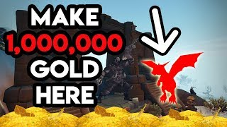 World Of Warcraft Gold Farm Make 1 000 000 Gold At This Location