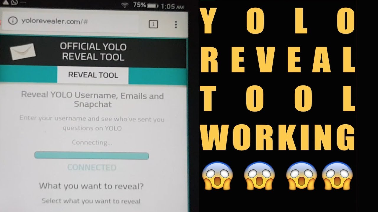 YOLO Reveal 🔥- How To Reveal YOLO Anonymous Messages Sender [TUTORIAL] 🔥