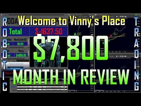 MONTH END REVIEW!! - $7,800 - Oct 2016 -Automated Trading System -Robotic Trading