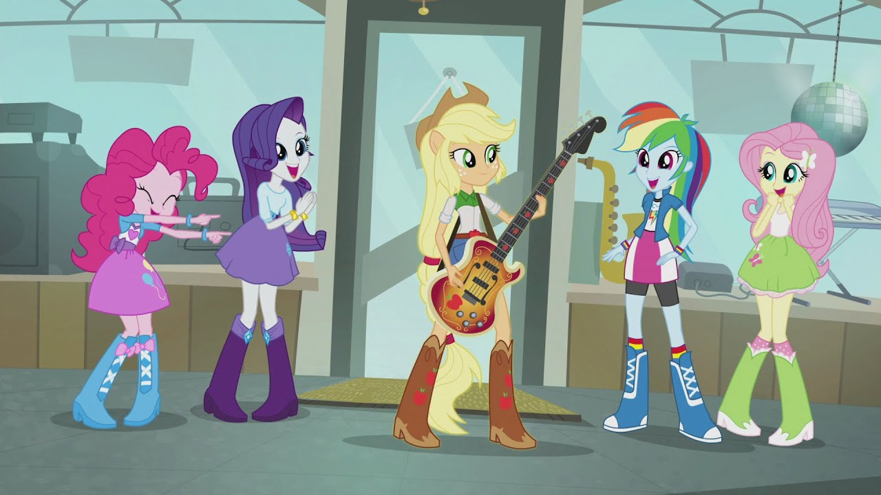 My little pony equestria girls Bahasa Indonesia (Indonesian)