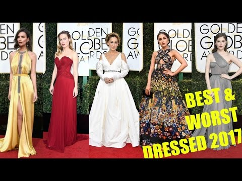 Golden Globe Awards 2017 | BEST & WORST DRESSED | Mejor & Peor vestida |