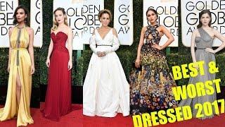 Golden Globe Awards 2017 | BEST & WORST DRESSED | Mejor & Peor vestida |