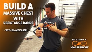 BEST CHEST EXERCISES WITH RESISTANCE BANDS