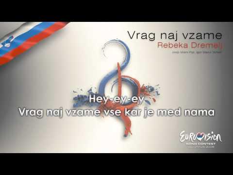 """Rebeka Dremelj - """"Vrag Naj Vzame"""" (Slovenia) - [Karaoke version]"""