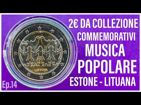 2 Euro Commemorativi RARI - Musica Popolare Estonia Lituania