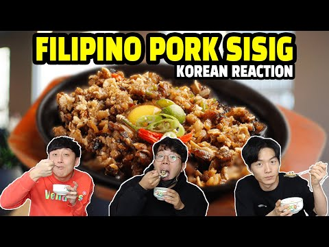 Pork Sisig | Do Koreans Like Filipino Food?