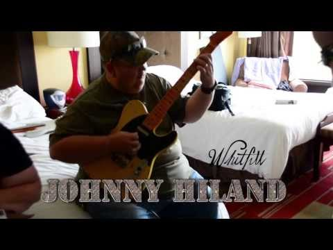 Johnny Hiland meets his Whitfill Custom guitar