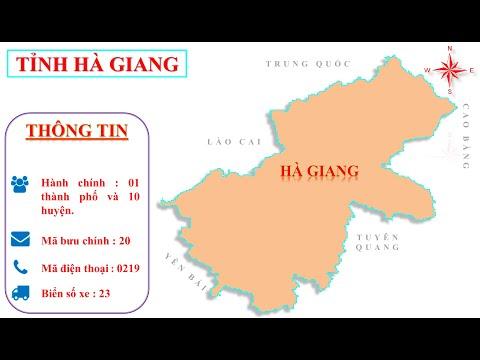 Bản đồ tỉnh Hà Giang  -- Vị trí tỉnh Hà Giang trên bản đồ hành chính Việt Nam.