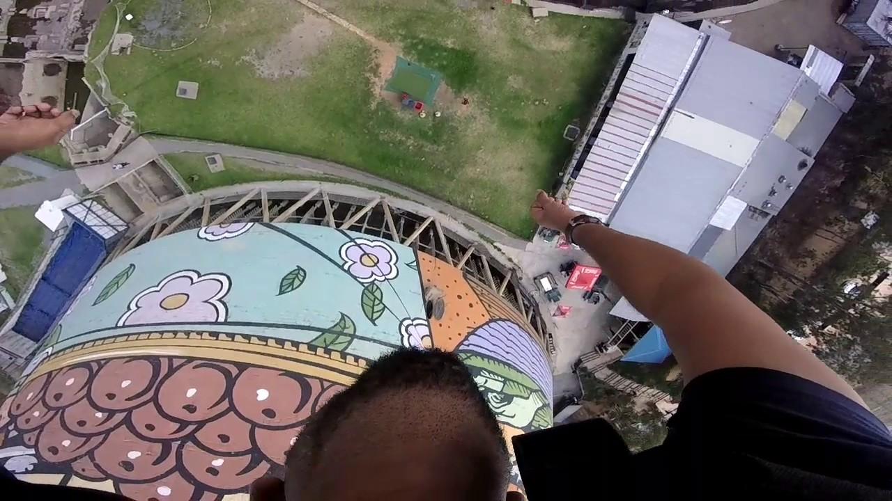 Bungee Jumping 100 meter | Orlando Towers | Soweto, Johannesburg | Vivek  Modi