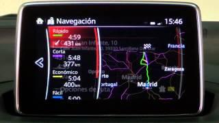 Mazda3. Modelo 2014. Impresiones sistema multimedia | km77.com