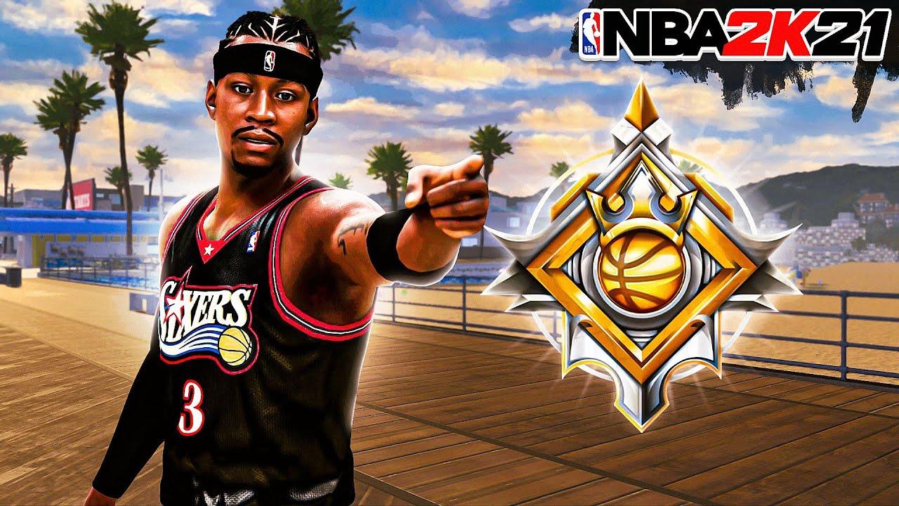 LEGEND ALLEN IVERSON BUILD is UNGUARDABLE on NBA 2K21