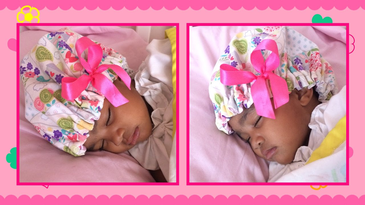 DIY Satin Bonnet for Little Girls - YouTube 24e9604635f