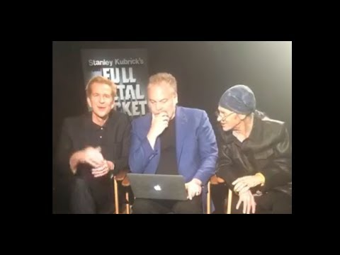 30th Anniversary of Full Metal Jacket. Matthew Modine, Vincent D'Onofrio answering questions