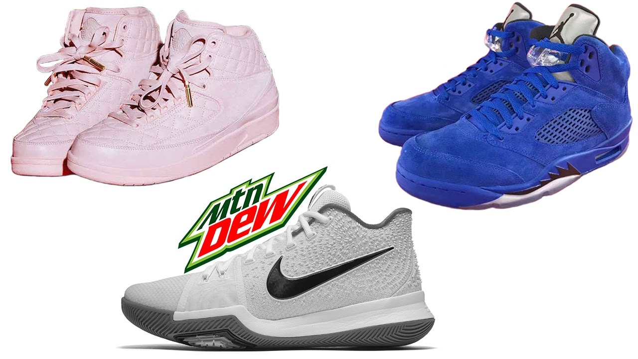 super popular e4290 e0448 JUST DON Air Jordan 2 Release Locations, Jordan 5 BLUE SUEDE, MOUNTAIN DEW  Kyrie 3 and More
