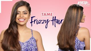 Best Haircare Routine For DRY, DAMAGED AND FRIZZY HAIR Ft. Kavya D'Souza | Nykaa