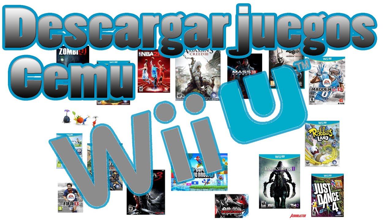 Descargar Juegos De Wii U Para Cemu Emulator Youtube