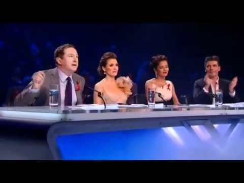 Rebecca Ferguson sings Amazing Grace - X Factor Live Semi-Final
