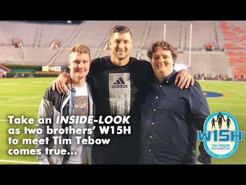 Inside Preston & Parker's W15H with Tim Tebow