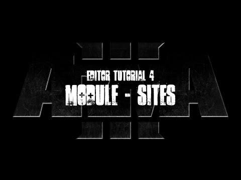 ArmA 3 Editor Tutorial - Modules - Sites