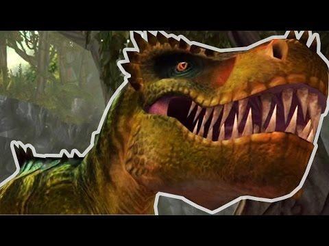 TYRANNOSAURUS REX - Lara Croft: Relic Run