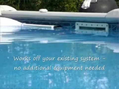 pool python demonstation video automatic pool skimmer. Black Bedroom Furniture Sets. Home Design Ideas