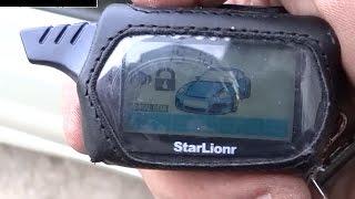 Сигнализация Starlionr, копия -Starline B9. Обзор. Видео № 93(Заказывал сигнализацию здесь - http://ali.pub/r2fck. Вот нашел у других продавцов с бесплатной доставкой - http://alipromo.com..., 2015-12-16T18:06:12.000Z)