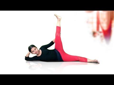 Online yoga lessons: Anantasana