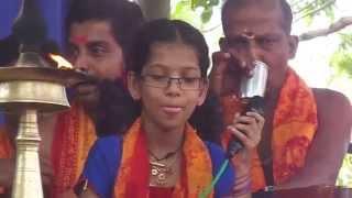 Prasanth varma bhajans.Ettumanoor Arattu day.Mannappam chuttu song.
