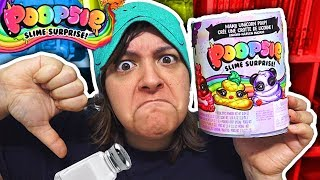 DON'T BUY! 9 REASONS POOPSIE SLIME SURPRISE Unicorn Kit is NOT worth it SaltEcrafter #31