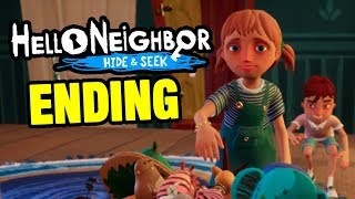 HELLO NEIGHBOR GAME HIDE AND SEEK ENDING