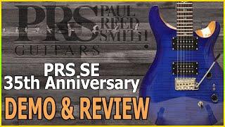 PRS SE 35th Anniversary SE Custom 24 Demo & Review