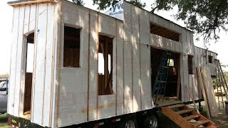Tiny House Vlog 1 - So...i Build Tiny Houses Now