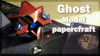 DESTINY GHOST MODELO PAPERCRAFT