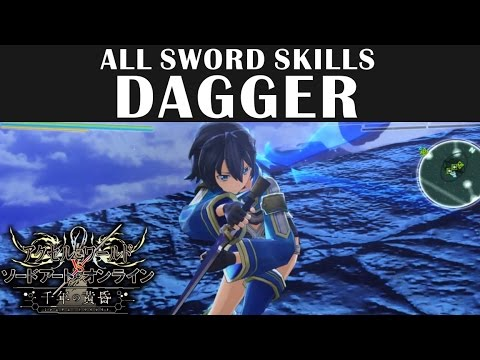 SAO Sword Skill & Weapon Breakdowns   BK Brent's Game Guides