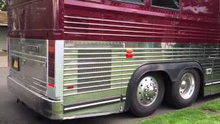 Detroit Series 60 12.7 Start Up Prevost